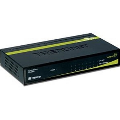 TRENDNET TEG-S80g 8-Port Gigabit GREENnet Switch (Metal)