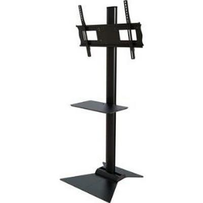 Crimson S631 Floor stand with metal shelf for 37