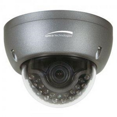 Speco HT5940K  1000 TVL Indoor/Outdoor IR Vandal Resistant Dome with True WDR, 2.8-12mm Lens Dark Grey Housing