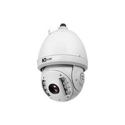 INDOOR/OUTDOOR IP PTZ, 2.0 MEGAPIXEL, 20X OPTICAL AUTO FOCUS ZOOM,  IR ILLUMINATED WITH H.264E COMPRESSION, 24VAC - POWER SUPPLY AND WALL MOUNT INCLUDED