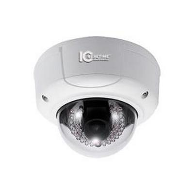 INDOOR/OUTDOOR MEGAPIXEL IR IP VANDAL DOME, 3.0 MEGAPIXEL, 1080P AT 30 FPS UP TO 3.0MP AT 15 FPS WITH H.264E COMPRESSION, 4.5-10MM LENS, 60FT IR, 12VDC OR POE 802.3AF - NO POWER SUPPLY INCLUDED