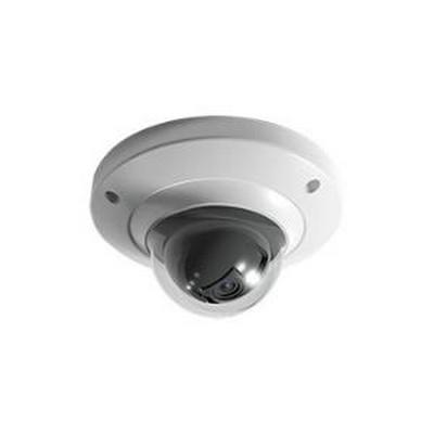 INDOOR/OUTDOOR MEGAPIXEL IP DOME, 1.3 MEGAPIXEL, 720P AT 30 FPS, UP TO 1.3MP WITH H.264E COMPRESSION, 3.6MM LENS, 12VDC OR POE 802.3AF - NO POWER SUPPLY INCLUDED