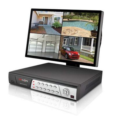 SpyClops SPY-DVR4  4 CHANNEL DVR 500GB